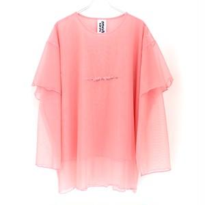 【Somewhere Nowhere】MESH T-SHIRT DRESS