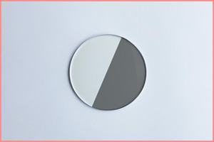 スモーク調光レンズ(薄型 非球面レンズ)
