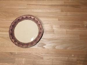 《作家名・KOZUE》 白LACE・丸皿
