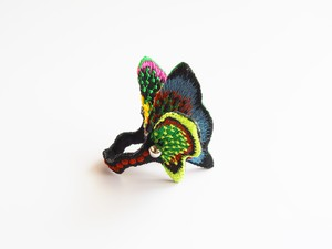 ARRO / Embroidery ring / land / BLACK