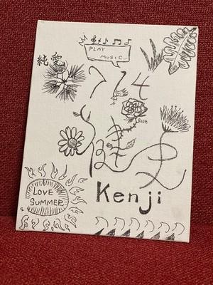 数量限定特別企画X+澁谷健史があなたの名前をキャンバスボートに(^^)/