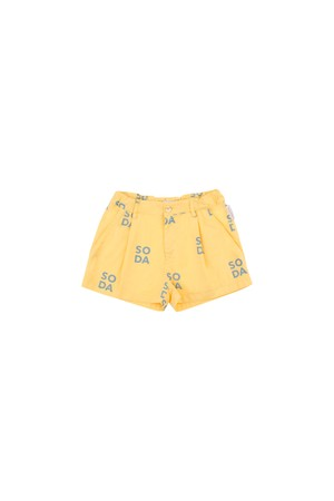 tinycottons / 'SODA' PLEAT SHORT