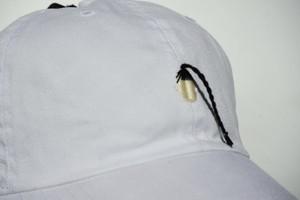 「超髪長中国女性」 手縫い刺繍キャップ(CAP)