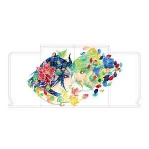 マスクケース:小笠原まりえ「花と風」