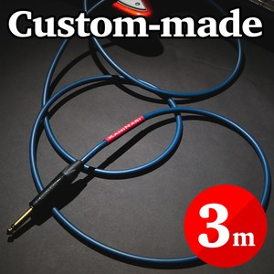 Electric Guitar Cable 3m【カスタムメイド】