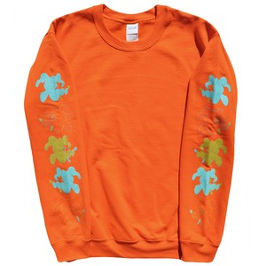 SWEATSHIRT / orange