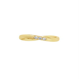 [約1ヶ月でお届け]レディース 1.9mm幅  K18  結婚指輪 OCTAVE∞Cercle~輪~「終わりのない無限の輪 時を超えても変わらない永遠∞の絆」