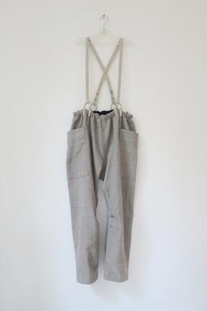 AM210112 カッチ産カラコットン手織のベンガルパンツ