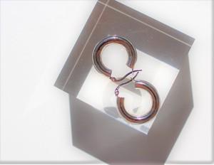 #03.【  TUBE HOOP 】× earrings  ×  925silver