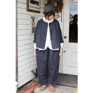 【tumugu】TB18310 ビッグへリンボンジャガードジャケット