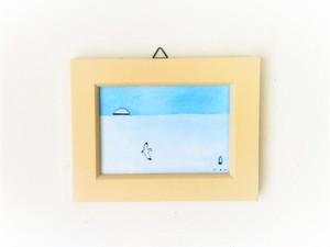 「遠い海の記憶」 小さな絵