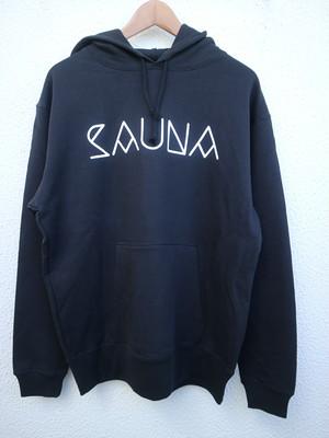 Black Sauna パーカー(裏起毛)