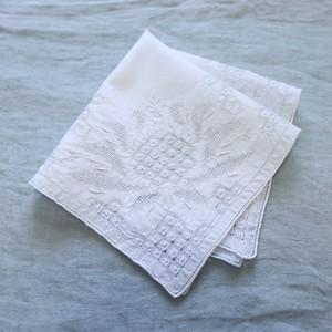 Vintage Embroidered Handkerchief 001・ヴィンテージ 刺繍ハンカチ 001 U.S.A