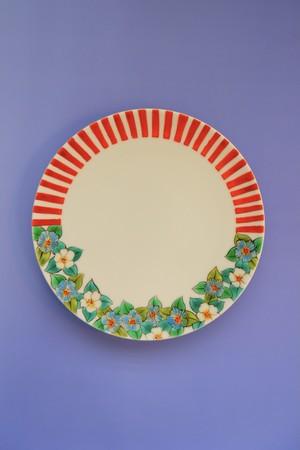 omoibana stripe○ / plate(15cm)