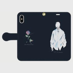 tumu手帳型iPhoneケース X/XS/XR/XS MAX