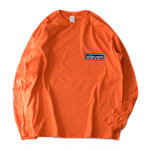ARM LOGO L/S TEE / ORANGE