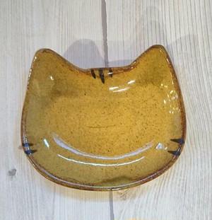猫豆皿 ビードロ