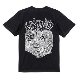 【WillxWill × Musollon】スペシャルコラボレーション Vulture T-shirts Black