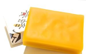 国産天然蜜蝋(ミツロウ)ブロックー未精製70g