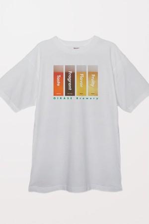 奥入瀬ビール 銘柄Tシャツ(ホワイト)