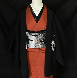 〈黒の羽織り〉刺繍 花柄 和モード 絵羽織 SALE ヨージヤマモト好き
