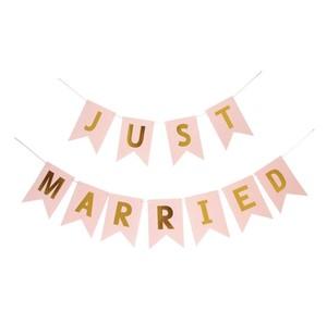 【販売】Just Married ガーランド