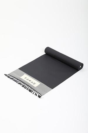 きもの / 十日町紬 / 山型 / Dark black(With tailoring)
