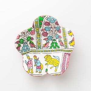 古典柄の花コースター Coaster(Classic pattern)