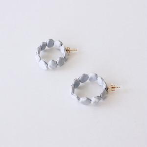 dots10( hoop )/ silver