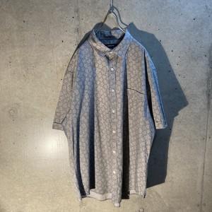 Cotton design short sleeve shirt