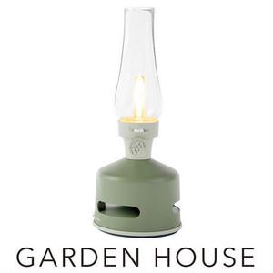 MoriMori LED ランタンスピーカー HOUSE GARDEN (グリーン色)