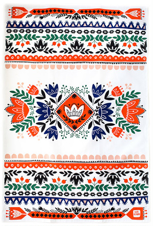 Ethnic Kitchen Towel 100% cotton