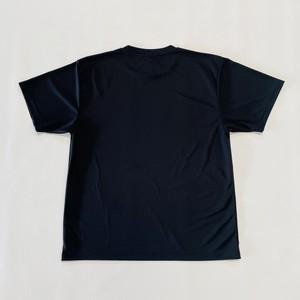 LOGO DRY T-SHIRT / BLACK×YELLOW