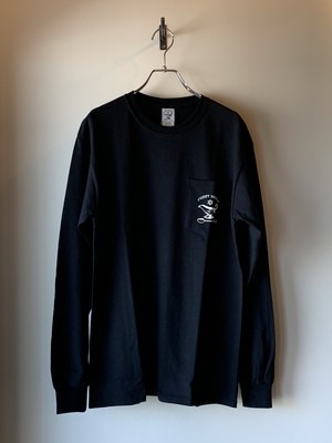 """OFF THE SPICE"" L/S TEE BLACK"