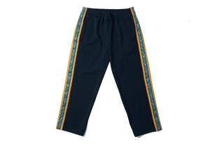 TRACK PANTS / NAVY×ORANGE