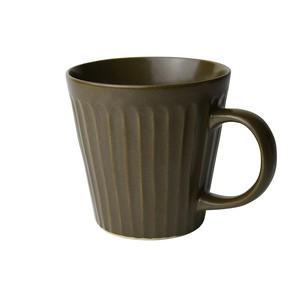 益子焼 つかもと窯 「 SHINOGI 」 マグカップ ブラウン TS-10