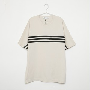 Y-3 ワイスリー Tシャツ M 3 STP PACKABLE SS TEE FJ0415 ECRU/BLACK メンズ
