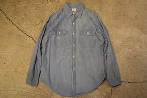 USED 70s BIGMAC Vintage Chambray Shirt S0620