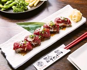 江戸前馬肉寿司 5カン