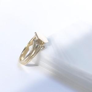 Baby Ring・Bold・K10 GOLD