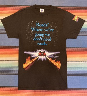 """Deadstock"" BACK TO THE FUTURE Print Tee <MADE IN USA>"