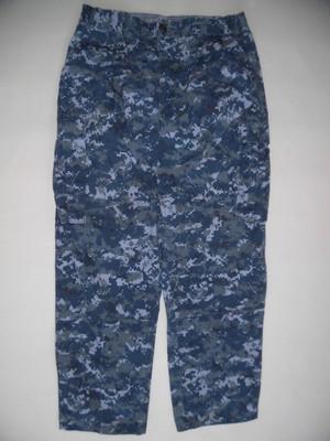 米海軍 US NAVY NWUデジタルカモパンツ/実物・極上 M-S