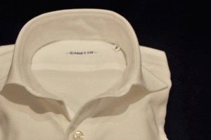 CADETTO ORIGINALS SHIRTS Flannel Twill White