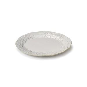 「リアン Lien」プレート 皿 長幅18cm S ホワイト 美濃焼 267836