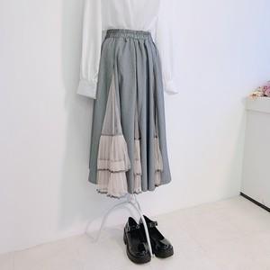 デザインプリーツスカート