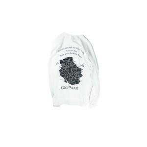 SUGI-NAM Long Sleeve /WHITE