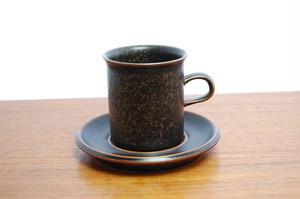 Ruska(ルスカ) コーヒーカップ&ソーサー【D】