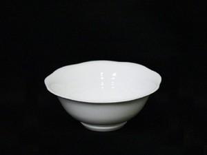 【井上康徳作】白磁波文 鉢(小)