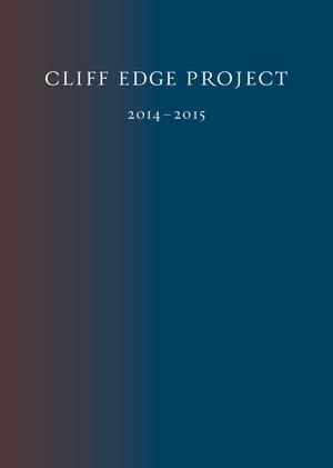 Cliff Edge Project 2014-2015 ドキュメントブック