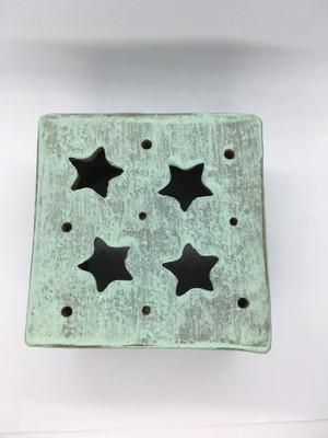 イオレイズカバー 角型 (ハンドメイド陶器) AJ008